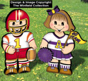 Dress-Up Darlings Football Outfits Pattern