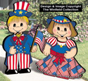 Dress-Up Darlings 4th of July Outfits Pattern