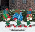 North Pole Delivery Elves Color Poster