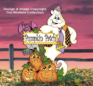 Pumpkin Patch Sign Post  Pattern