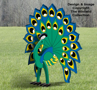 3D Peacock Pattern