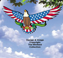 Star Spangled Eagle Color Poster