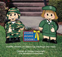 Dress-Up Darlings Army Outfits Pattern