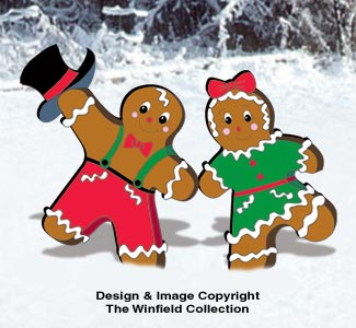 Gingerbread Junction Dancers Pattern
