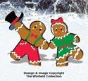 Gingerbread Junction Dancers Pattern
