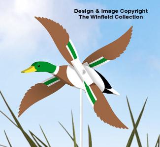Mallard Duck Whirligig Pattern
