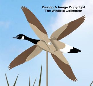 Canada Goose Whirligig Pattern
