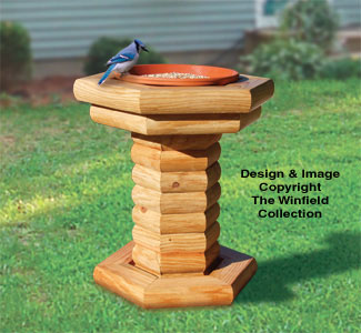 Landscape Timber Bird Feeder Pattern