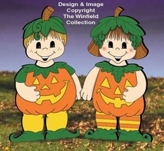 Dress-Up Darlings Pumpkin Pals Outfits Pattern