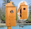 Wood Duck House Pattern