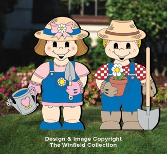 Dress-Up Darlings Garden Pals Outfits Pattern