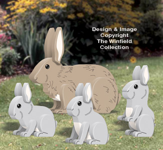 3D Rabbits Pattern