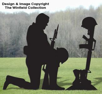 Male Fallen Soldier Pattern