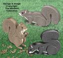 3D Squirrels Pattern