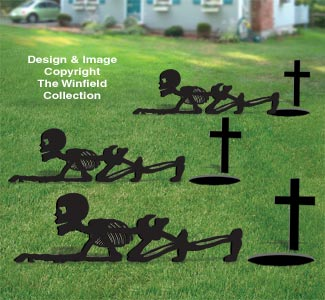 Skeleton Crawler Woodcraft Pattern