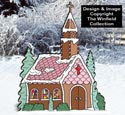 Gingerbread Church Pattern