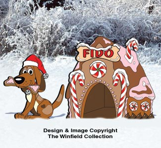 Gingerbread Doghouse Pattern