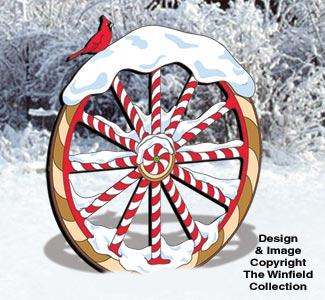 Gingerbread Wagon Wheel Pattern
