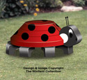3D Lady Bug Pattern