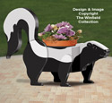 Skunk Planter Pattern