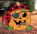 Pirate Jack-O-Lantern Pattern