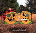 Pirate Jack-O-Lantern Patterns Set