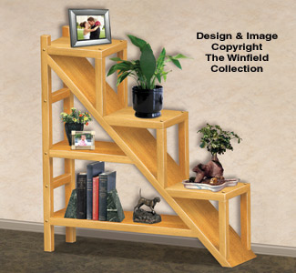 Shelves Staircase Shelving Unit Woodworking Plans