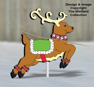 Gingerbread Reindeer Pattern