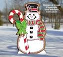 Gingerbread Snowman Pattern