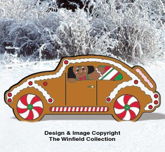 Gingerbread Car Pattern