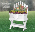 Picket Fence Flower Box Plan
