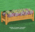 Large Flower Bed Box Plans