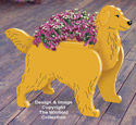 Golden Retriever Planter Pattern