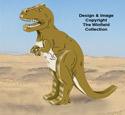 3D T-Rex Pattern