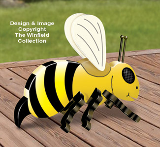 3D Giant Bumble Bee Pattern