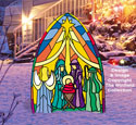 Dazzling Nativity Pattern