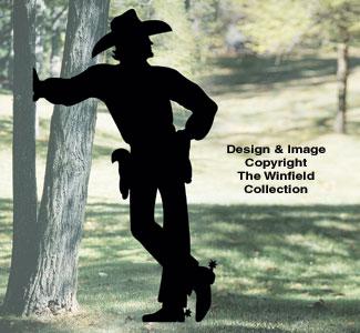 Cowboy Shadow Pattern